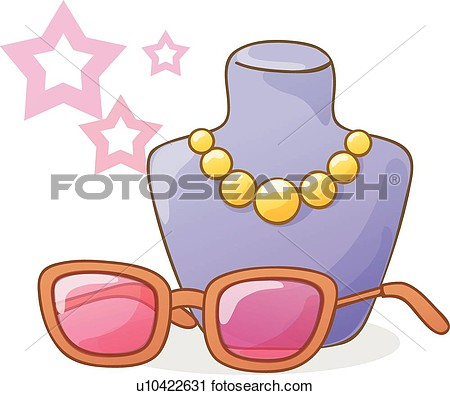 Jewelry And Accessories Clipart.