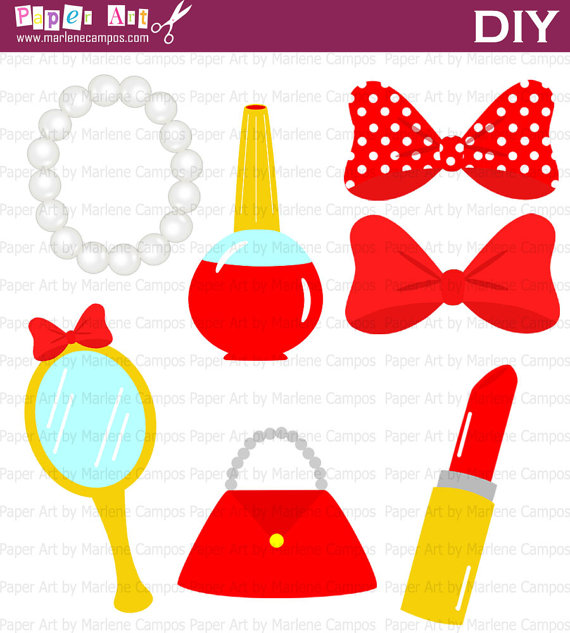 Free fashion accessories clipart.