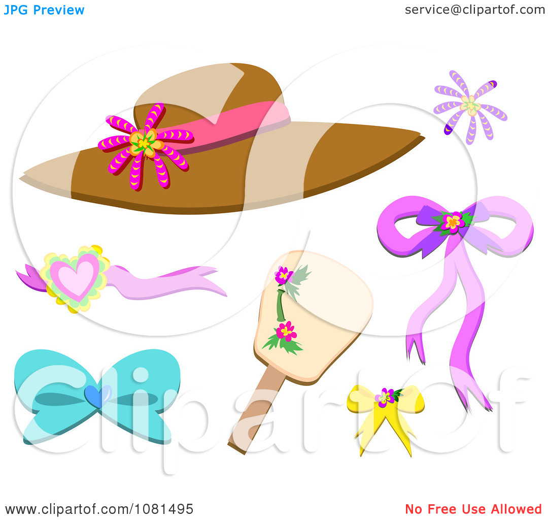 Clipart Set Of Accessories.