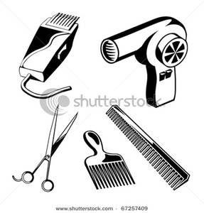 hair salon black art.