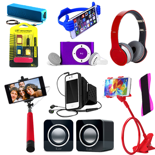 Mobile accessories png images 2 » PNG Image.