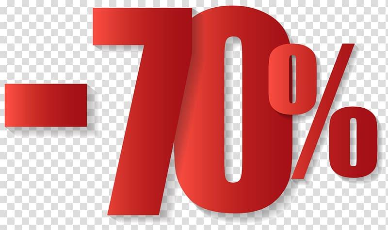 70% signage, Sales T.