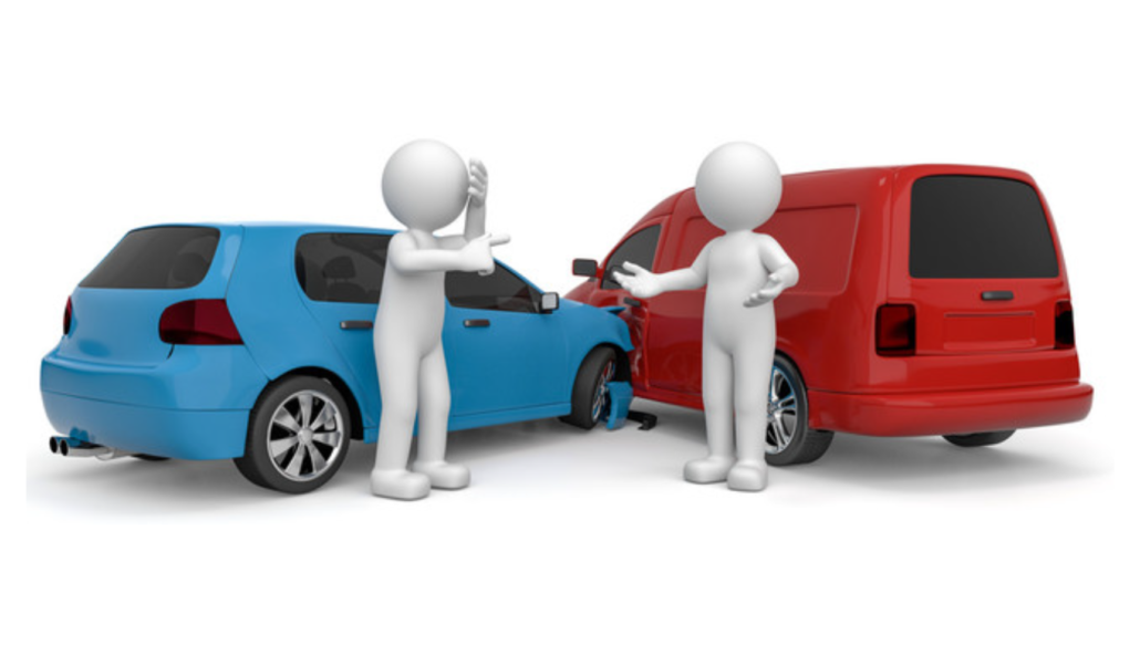Important steps to follow when involved in a car accident.