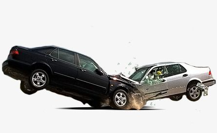 Two Car Collision Accident, Car Clipart, Traffic Accident, Car PNG.