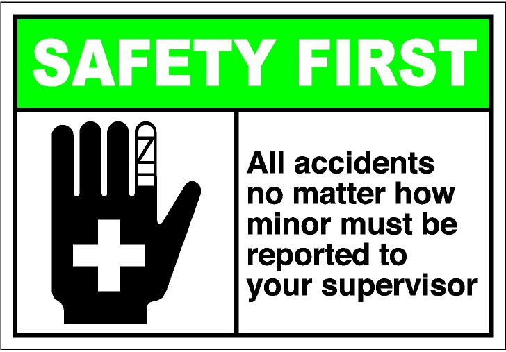 Workplace accident clipart.