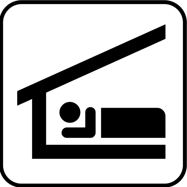 accommodation clip art Vector.