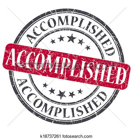 Accomplishments clipart.