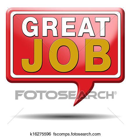 320 Great Job free clipart.