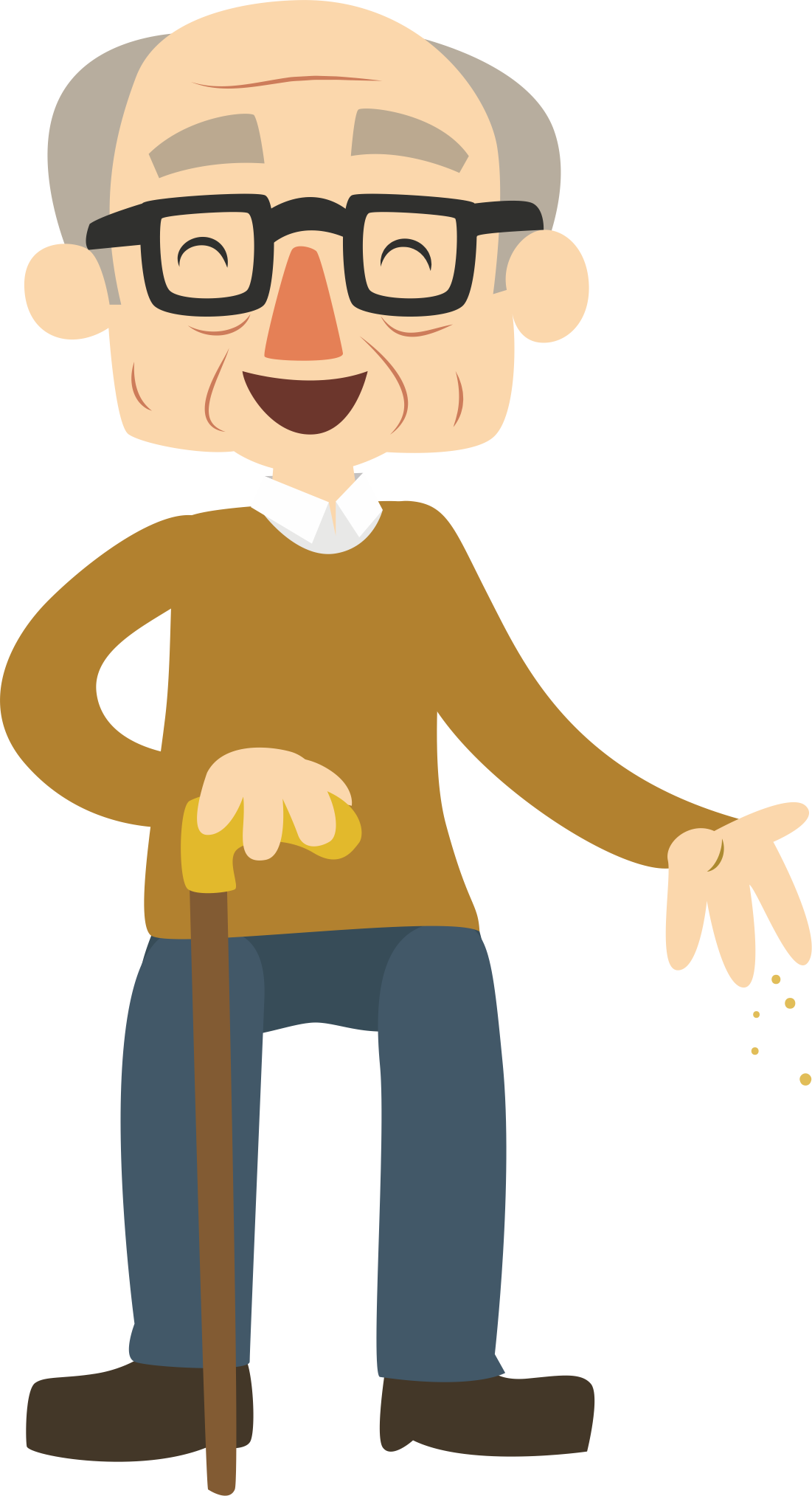 Nice clipart old man, Nice old man Transparent FREE for.