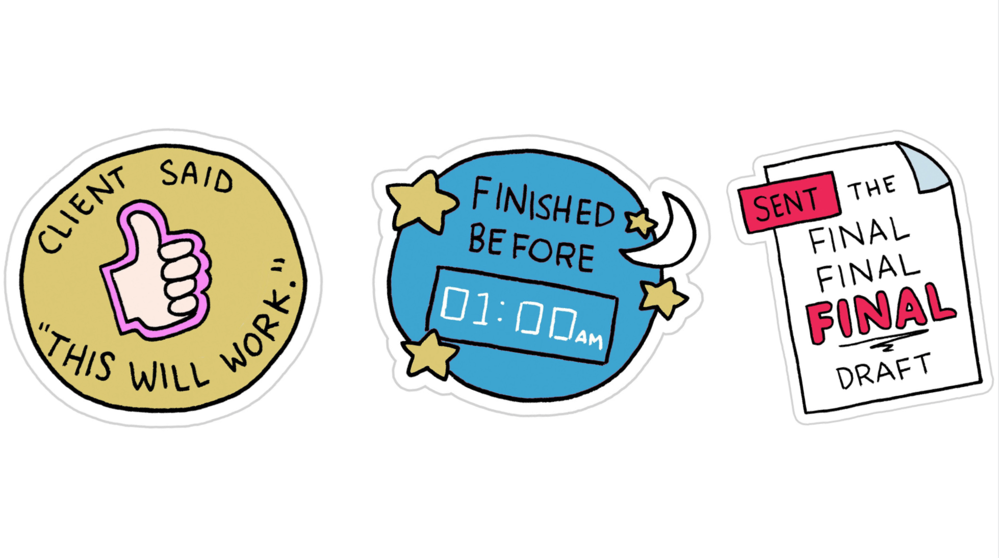 Achievement Stickers for Every Architect and Interior.