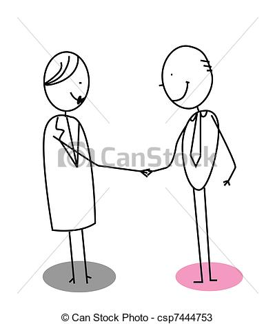 Vectors of man woman agreement vector csp7444753.