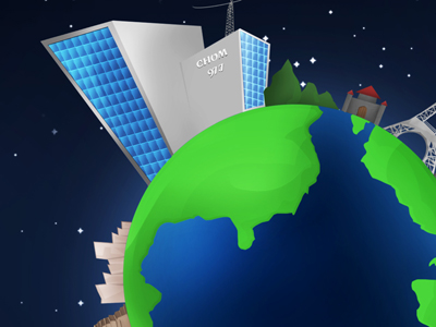 The World according Eques : Wallpaper Clipart Picture.