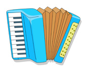 Accordion Clipart.