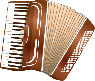 Accordion clip art.