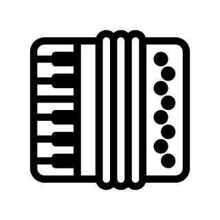Accordion Clipart.