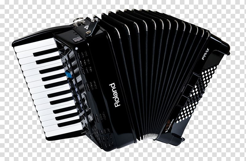 Piano accordion Roland Corporation Musical instrument, Black.