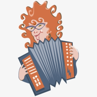Diatonic Button Accordion , Transparent Cartoon, Free.