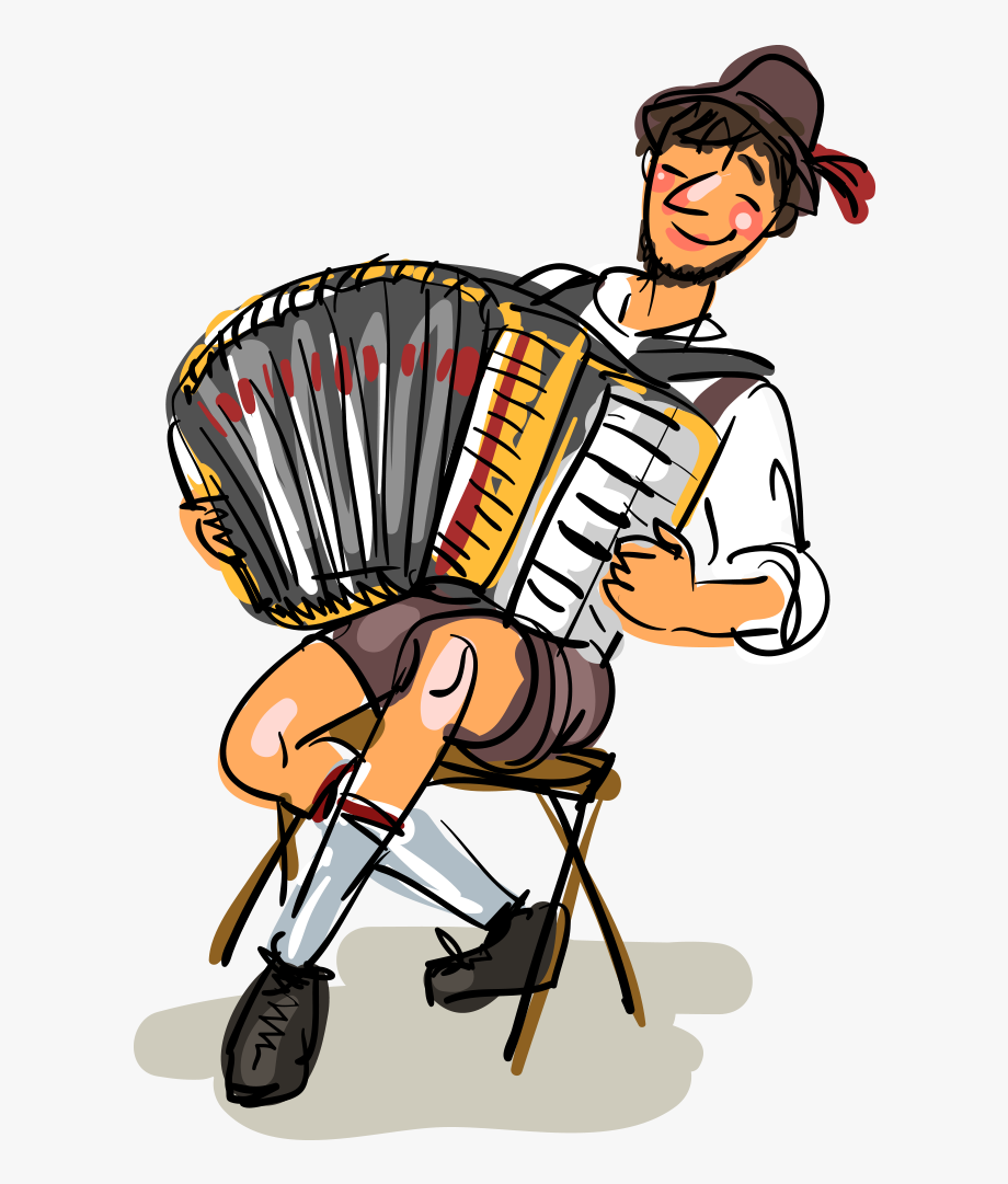 German Clipart Accordion German.