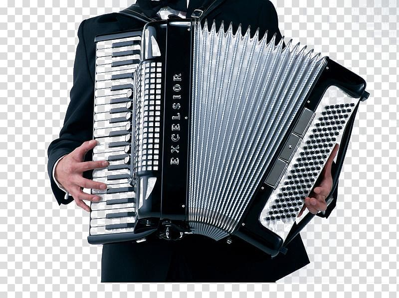 Musical instrument Accordion Sound, The accordion transparent.
