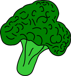 Broccoli Clip Art.