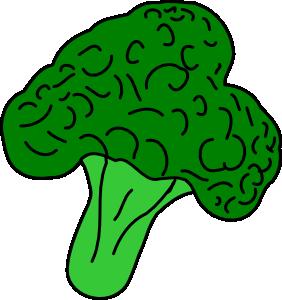 Broccoli Clip Art.