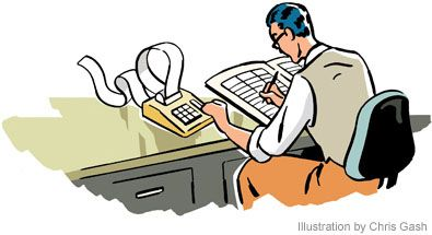 Accountancy clipart #3