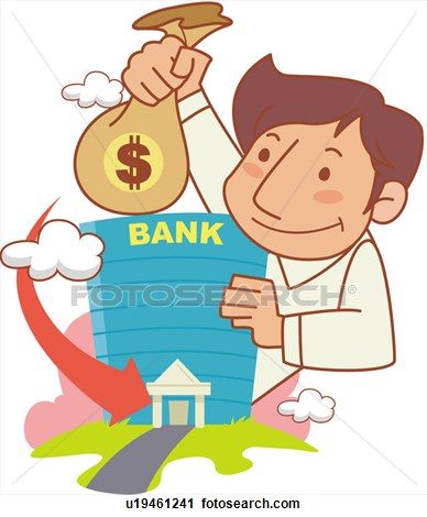 Bank Account Clipart.