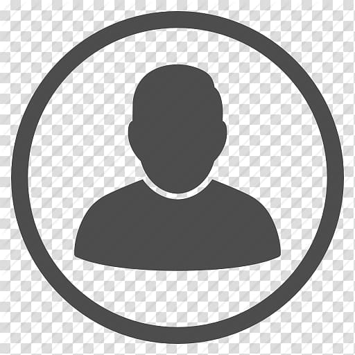 Silhouette of person illustration, Computer Icons User.