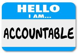 Accountability Clipart.