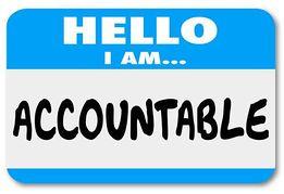 Accountability Clipart.