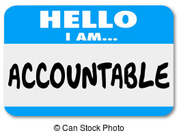 Accountable clipart.
