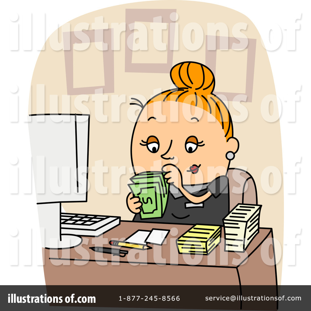 Accountant Clipart #1059366.