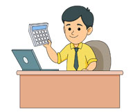 Collection of 14 free Accountant clipart desk bill clipart dollar.