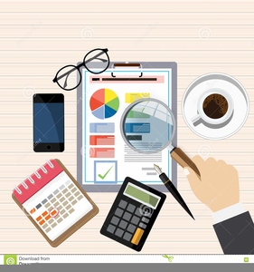 Accounting Process Clipart.