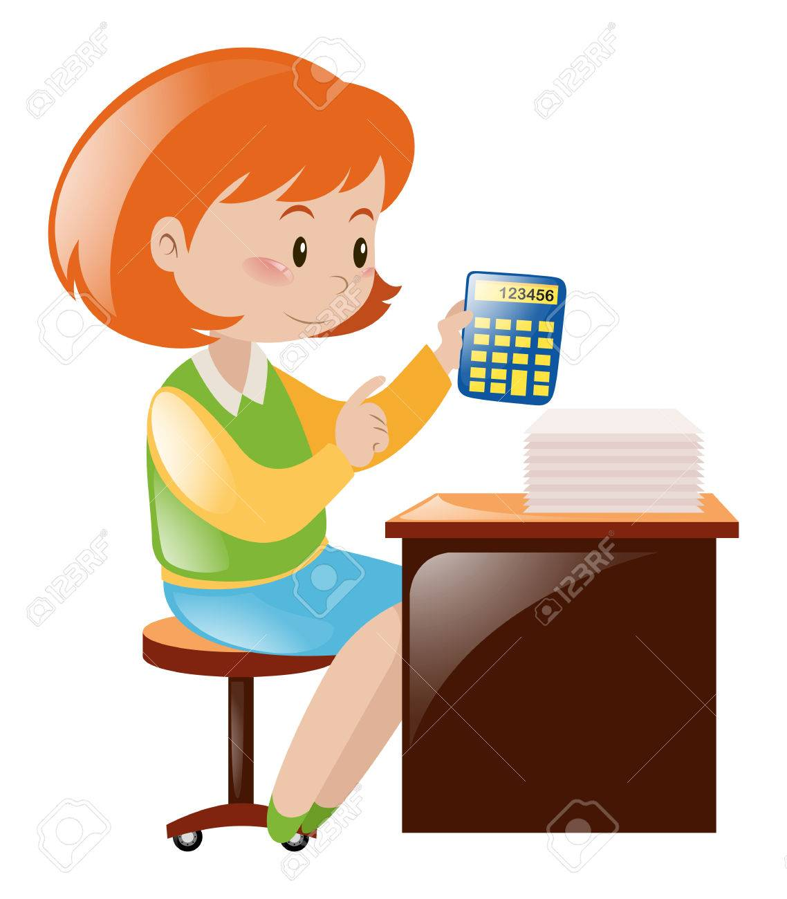 Collection of 14 free Accountant clipart accounting background bill.