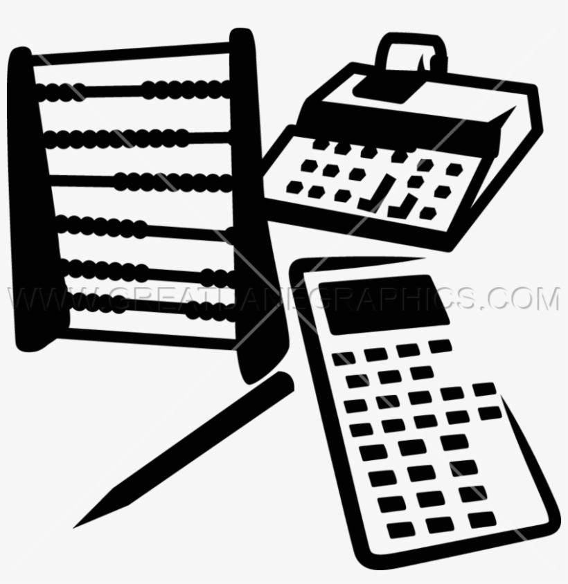 Vector Freeuse Accountant Clipart Black And White.