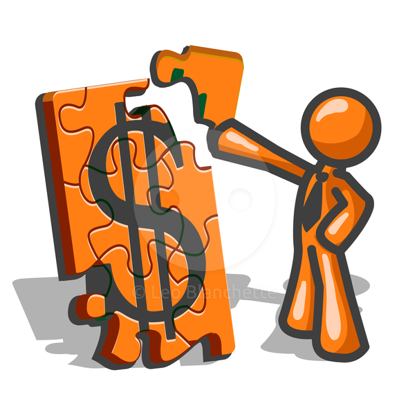 Accountant clipart financing, Accountant financing.