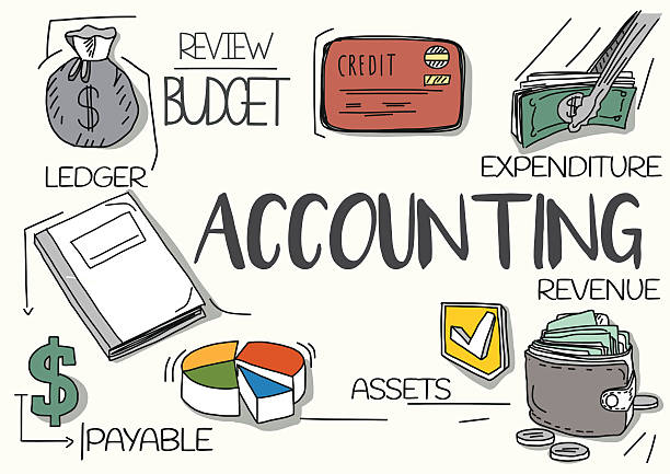 Best Drawing Of A Accountants Illustrations, Royalty.