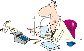 Accountants clipart images and royalty.