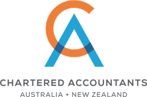 Chartered Accountants Australia and New Zealand Logo Vector.