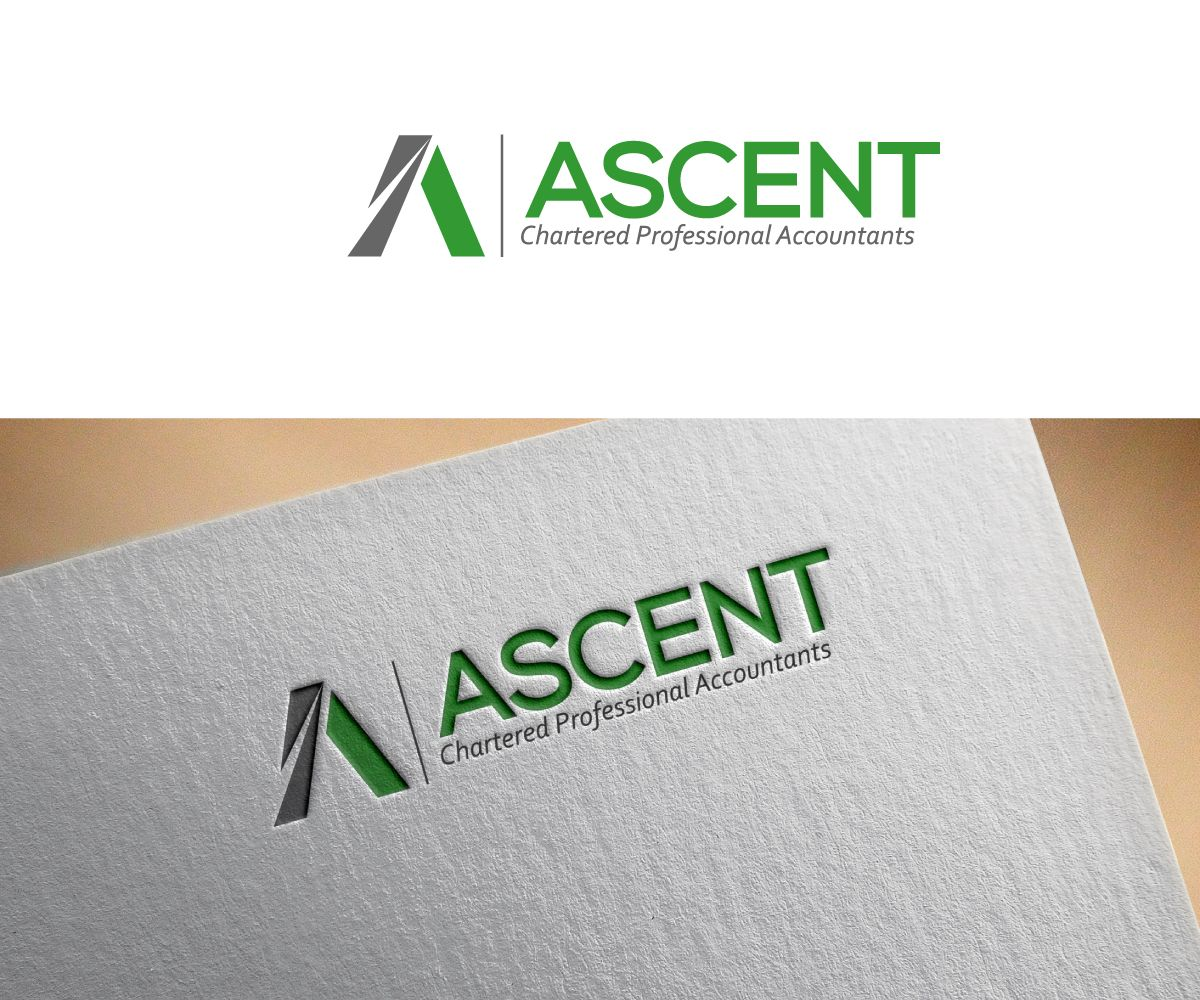 Logo Design by ergo™ for Canadian accounting firm (online.
