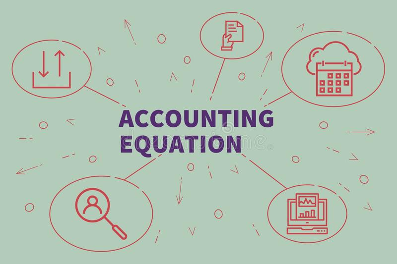 Accounting Equation Stock Illustrations.
