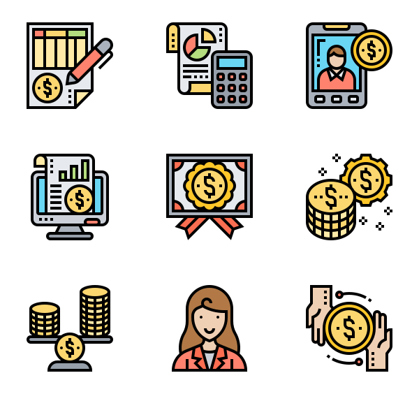 Accounting Icons.