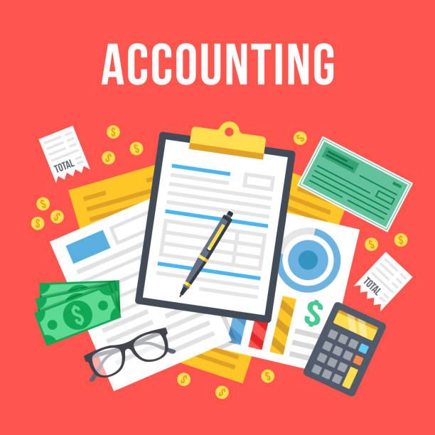 Best Accountancy Illustrations, Royalty.