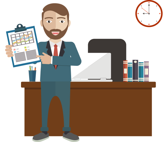 Accounting clipart male accountant, Accounting male.