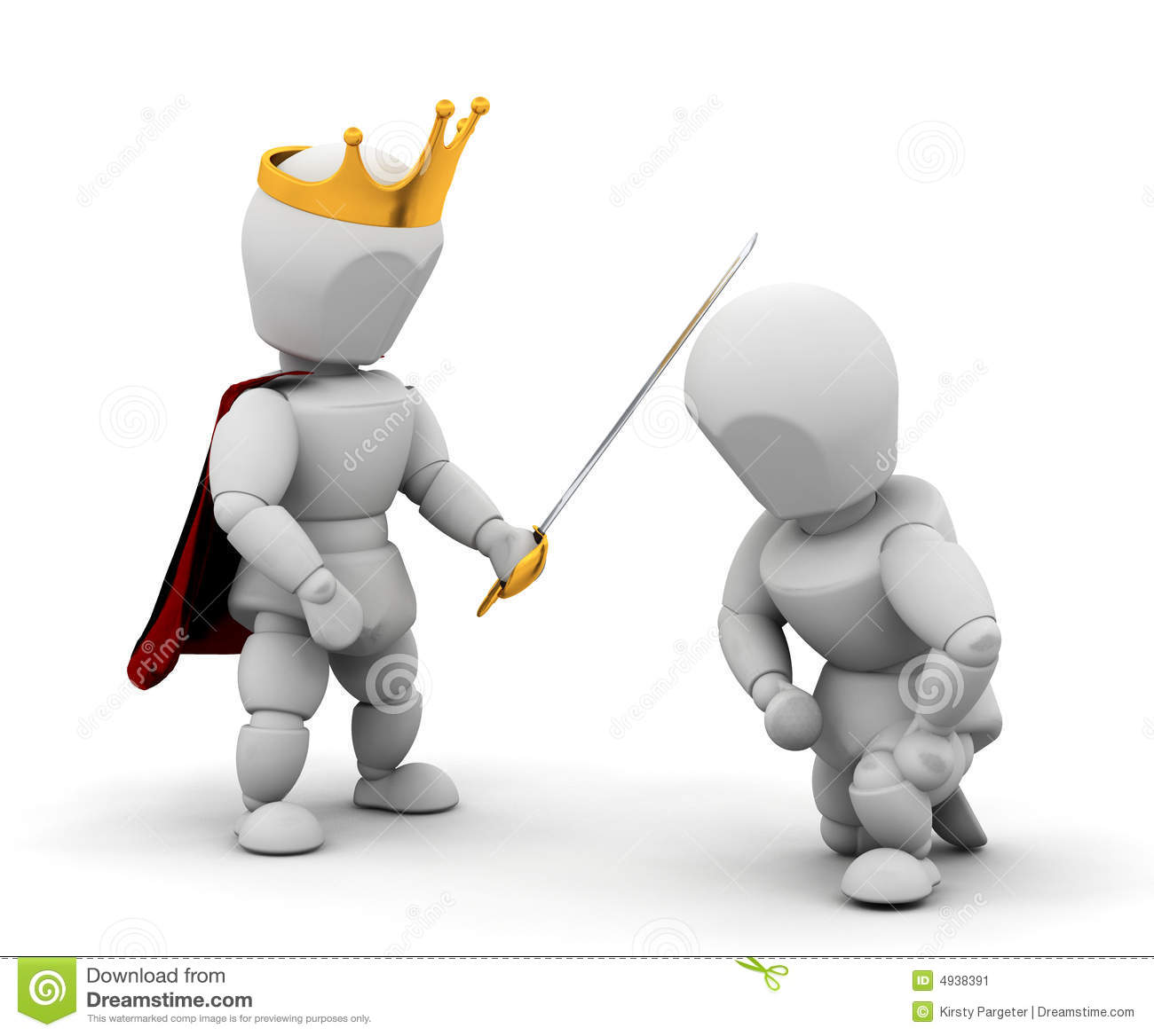 Knighthood Stock Images.
