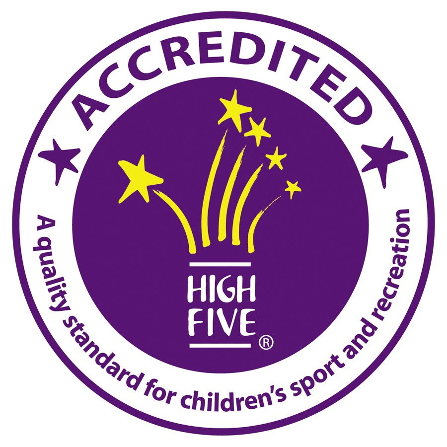 High Five Accredited Logo.
