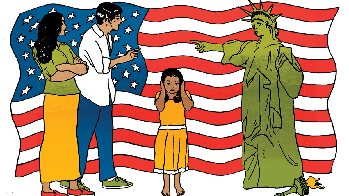 The Hidden Stress of Growing Up a Child of Immigrants.