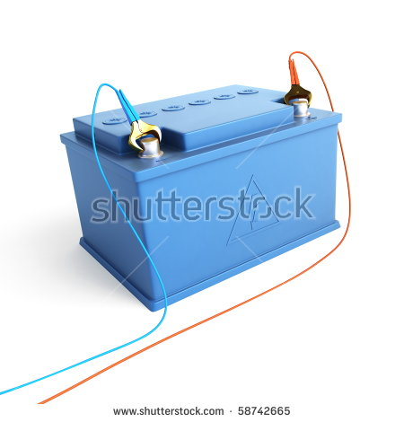 Accumulator Battery Stock Photo 58742665 : Shutterstock.