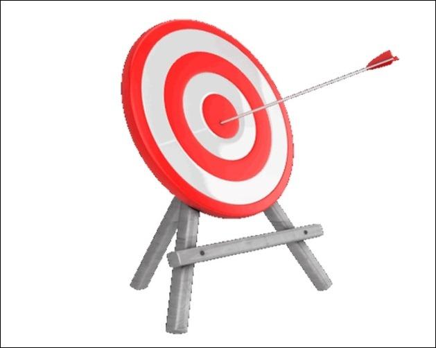 Target practice clipart.